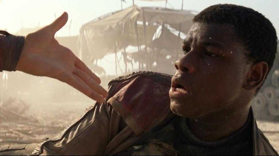Finn em Star Wars 7