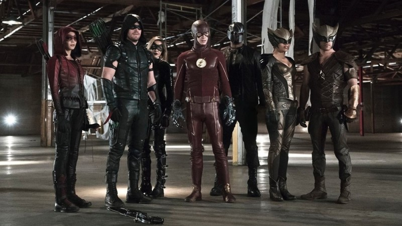 novo crossover entre arrow e the flash
