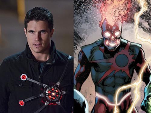 Robbie Amell retorna à The Flash