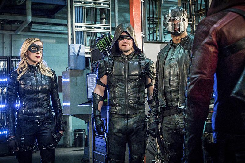 décimo segundo episódio da quarta temporada de Arrow